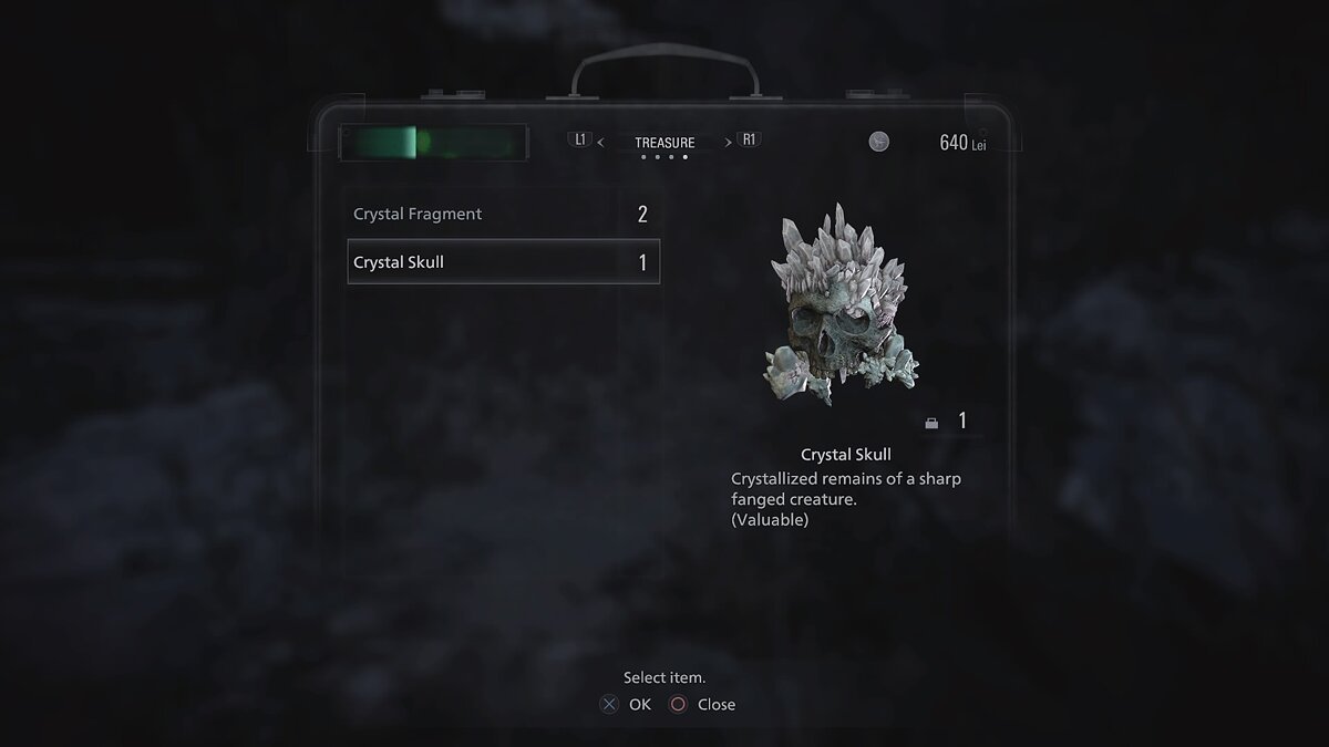 Kill enemies and collect crystal skulls