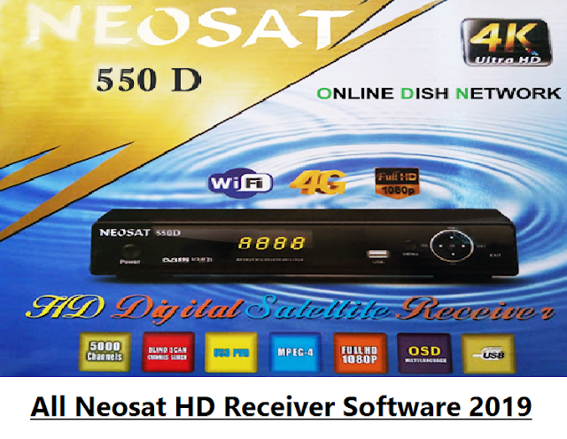 All Neosat HD Receiver Software 2019
