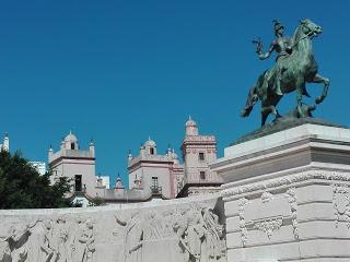 Plaza España de Cádiz