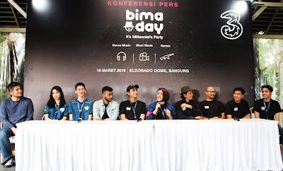 Konferensi Pers Bima Day di Bandung