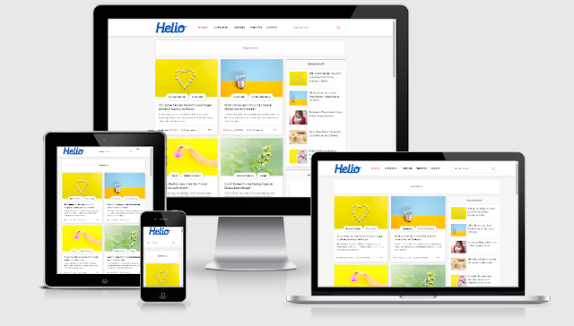 Free Blogger Templates Download 2020 • Top Best Free • New Templates • HELIO V1.0