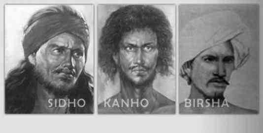 Santhal Freedom Fighter Sido Kanhu Birsa