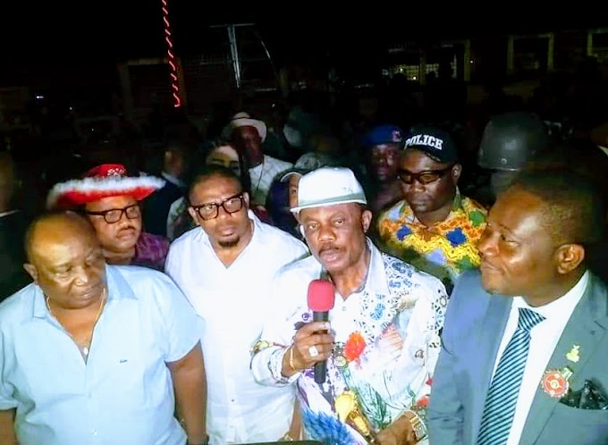 As Obiano Lights Up Anambra for Christmas