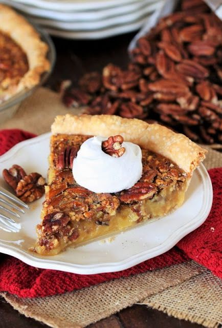 Pecan Pie Recipe with Vanilla Pudding