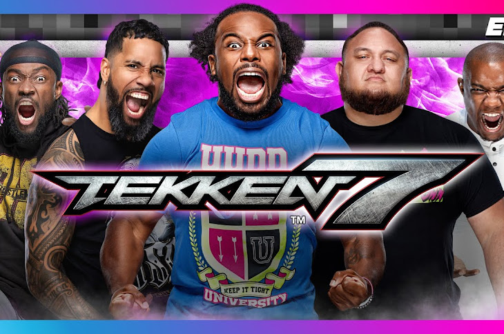 WWE Stars Play Tekken 7
