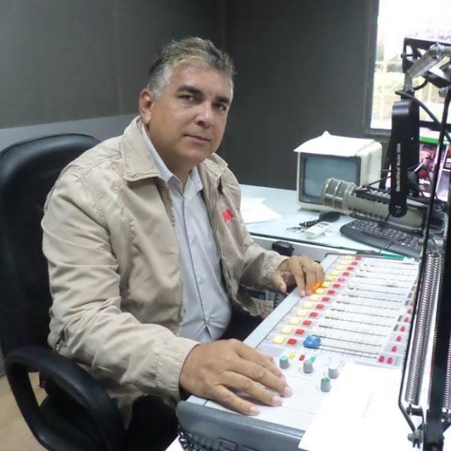 Repórter caraubense, Francileno Góis, morre aos 50 anos por complicações de covid-19
