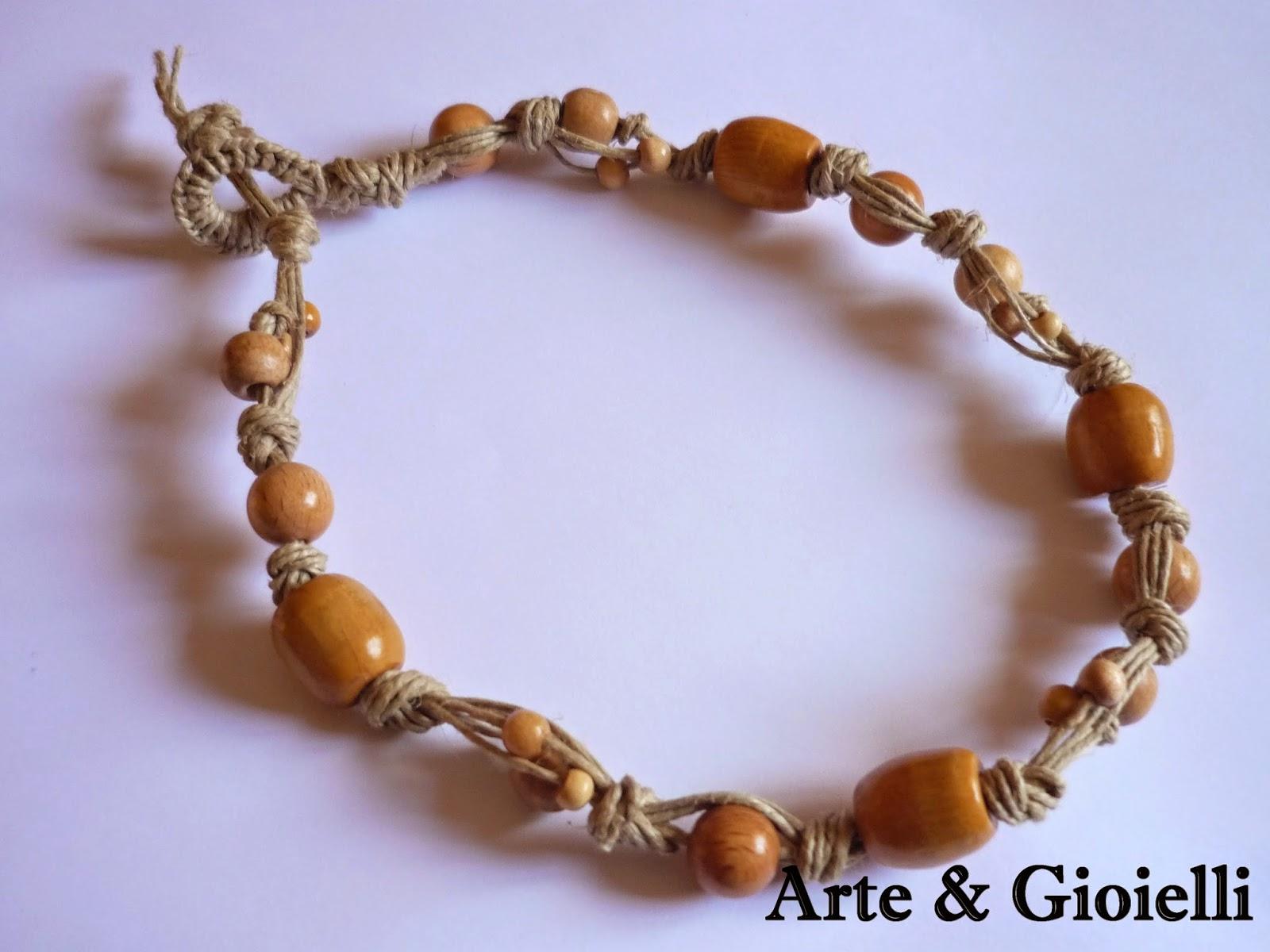 Arte gioielli collane in spago e cotone for Siti cinesi gioielli