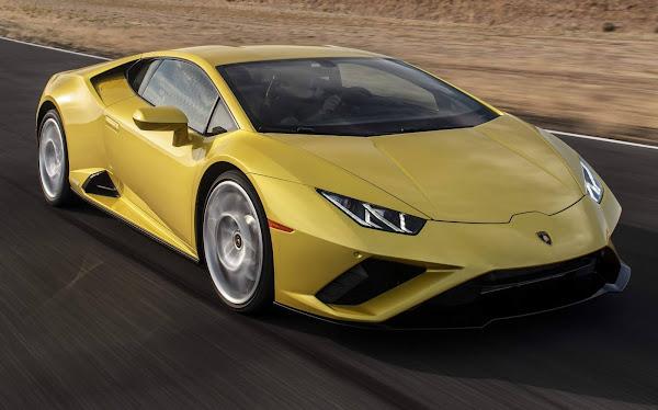 Lamborghini Huracan RWD 2020 chega aos EUA - fotos