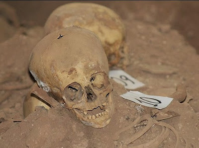Hidden early Christian crypt with dozens of skeletons discovered in Peru