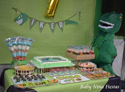 mesa dulce dinosaurio
