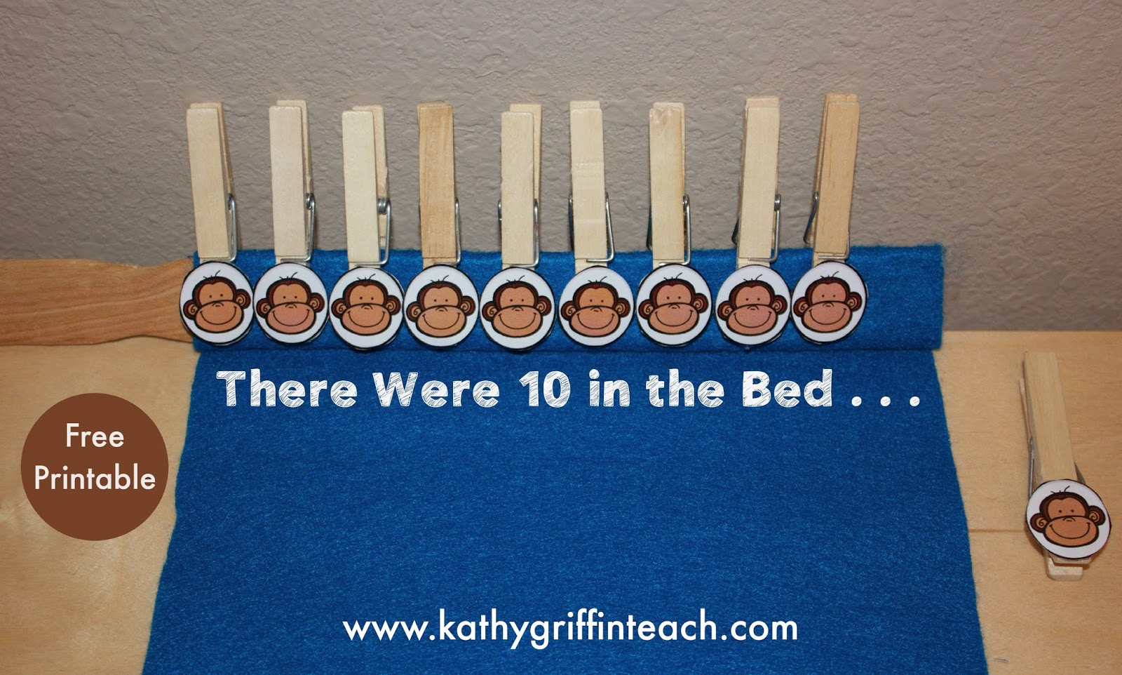 Kathy Griffin S Teaching Strategies 10 In The Bed Math