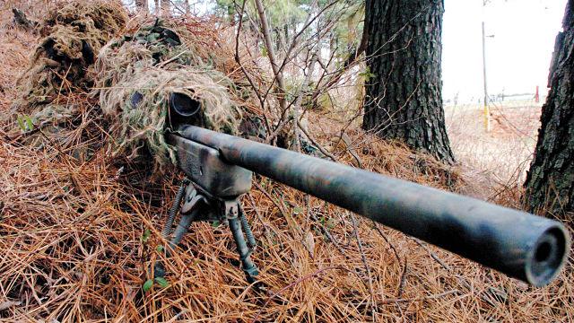 Sniper Camouflage - Fond d'écran en Full HD