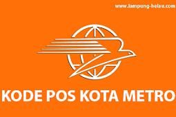 Lengkap! Kode Pos Kota Metro Lampung