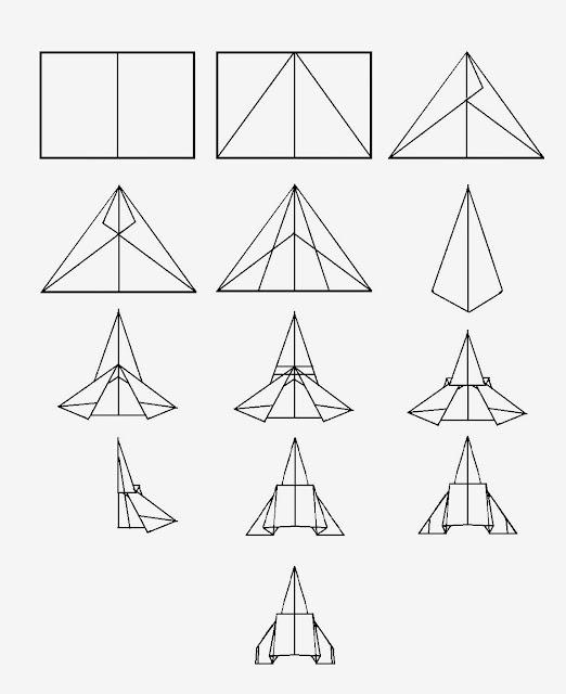 Avión de papel Wing 29