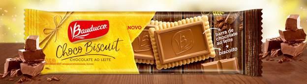 Bauducco lança Choco Biscuit