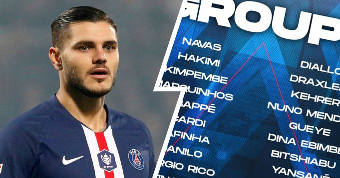 Mbappe & Icardi in: PSG unveil 22-man squad for Clermont Foot clash
