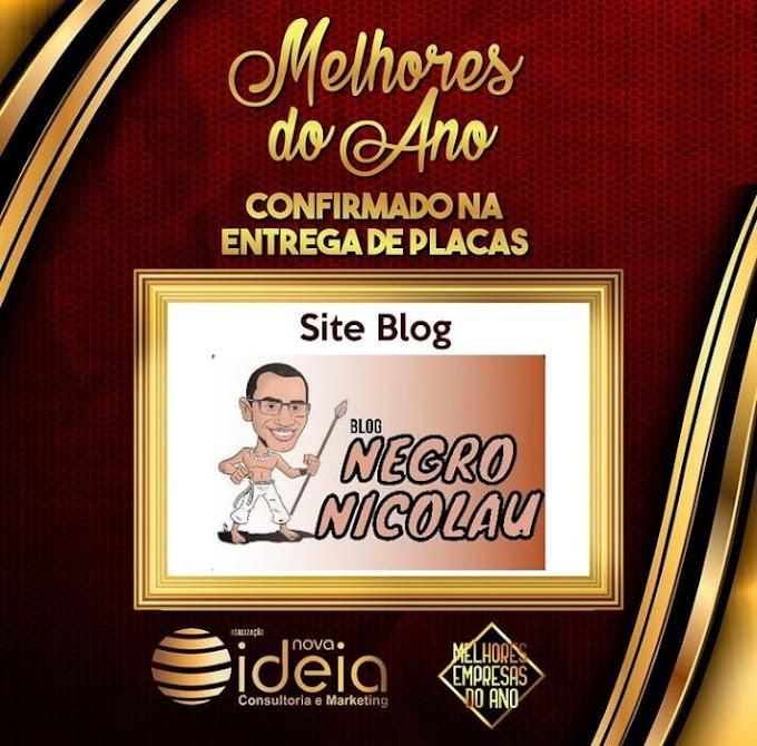 Blog Negro Nicolau é o escolhido do público como o melhor do ano em votação na rede social