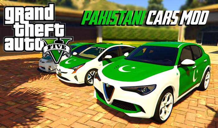 5 Pakistani Flag Cars in GTA V Download | GTA 5 Pakistan Mod
