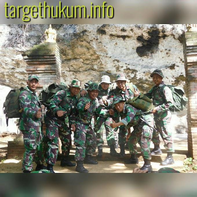 Gerak Jalan Program Minggu Militer di Watu Payung Bersama Kodim 0718 Pati