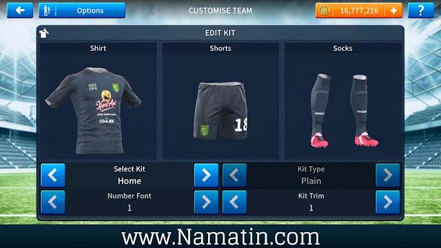 Download Kostum Dream League Soccer Persebaya