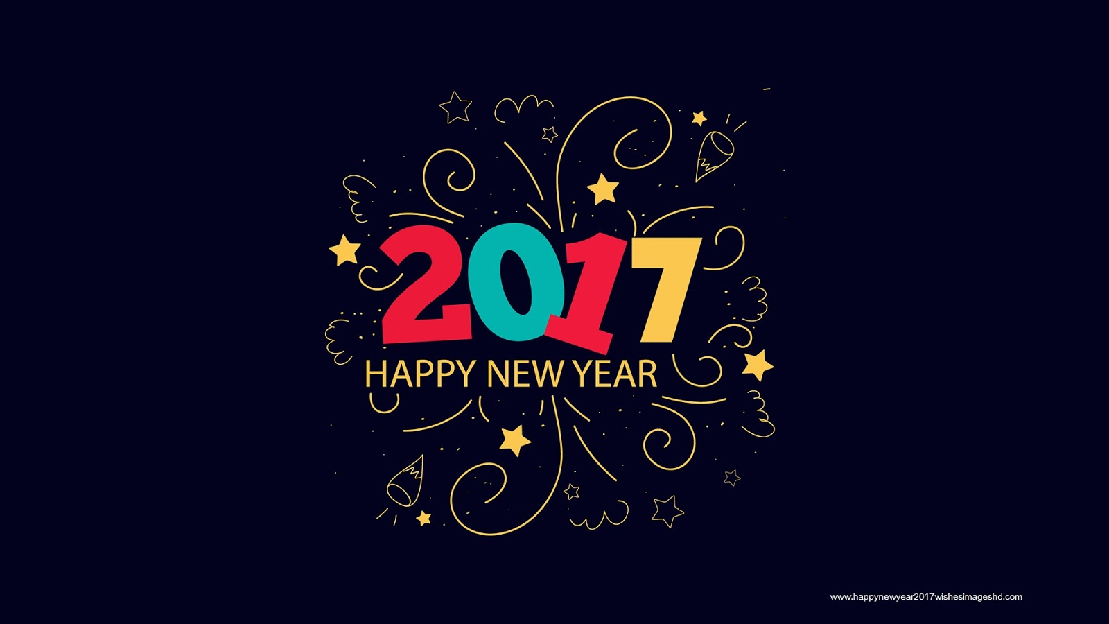 Happy New Year 2017 Warm Wishes Images Greetings ~ Happy New Year 2017 ...