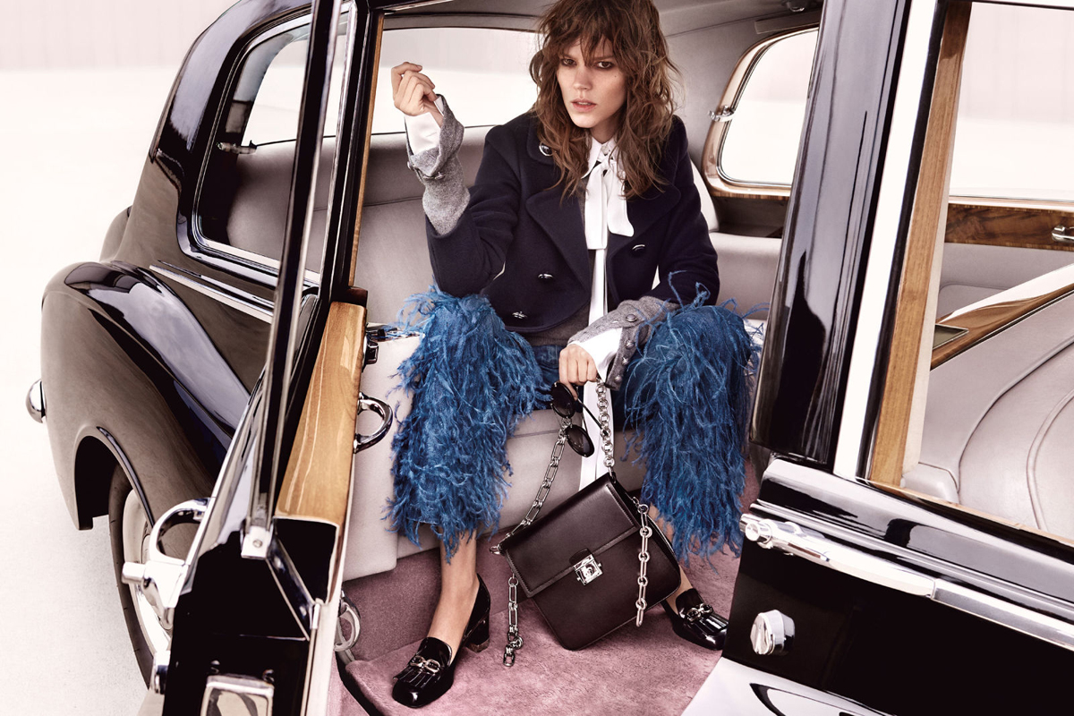 Freja Beha Erichsen for Michael Kors Autumn/Winter 2016 Campaign