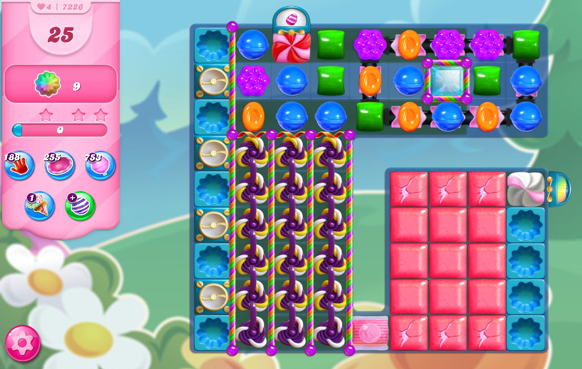 Candy Crush Saga level 7226