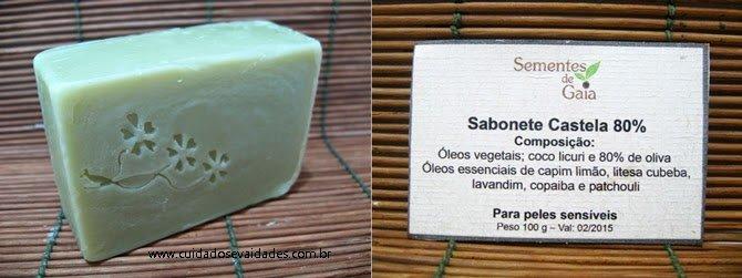 sabonete de castela