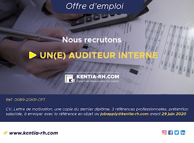 UN(E) AUDITEUR INTERNE