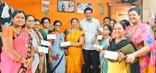 ममता महिला बचत गट ने दूसरी बार पूरा किया सफलतापूर्ण कार्यकाल   #NayaSaberaNetwork