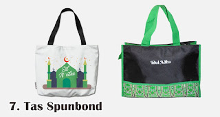 Tas Spunbond merupakan salah satu rekomendasi pernak-pernik souvenir untuk Idul Adha
