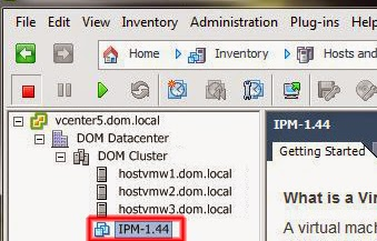 Terminado el proceso de despliegue de IPM.