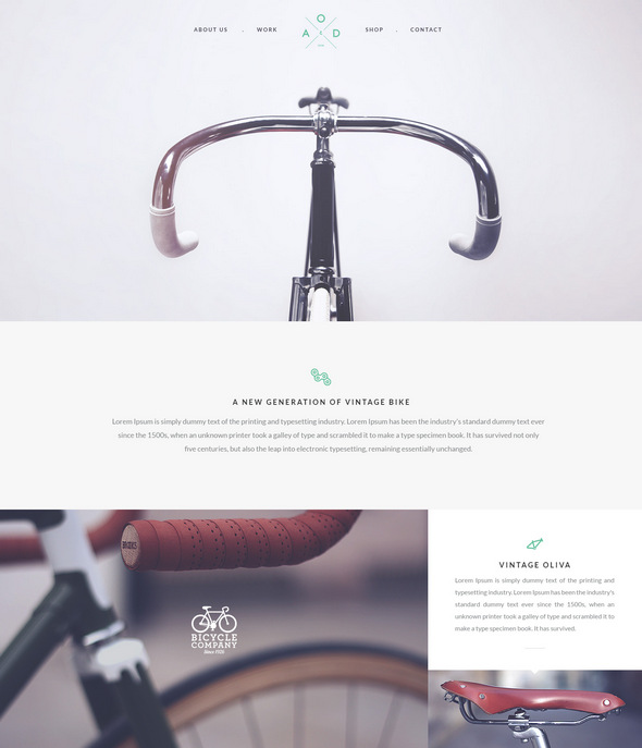Bicycle Flat PSD