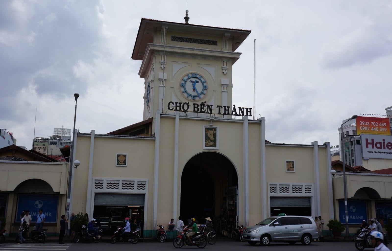 Ben Thanh Market Exterior