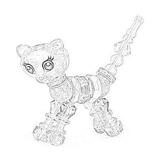 The Holiday Site: Coloring Pages of Twisty Petz, Free and