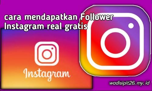 Cara menambah followers Instagram real dengan cepat aman dan mudah terbaru