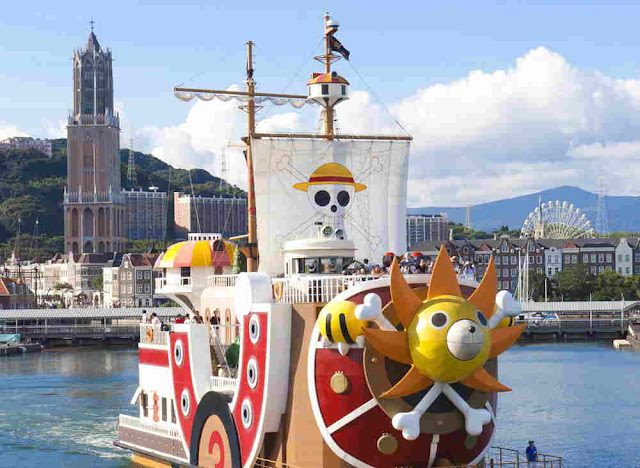 Kapal One Piece Kembali ke Nagasaki Setelah 4,5 Tahun