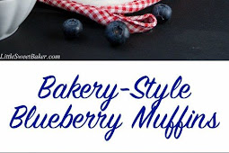 BLUEBERRY STREUSEL MUFFINS – BAKERY STYLE (VIDEO RECIPE)