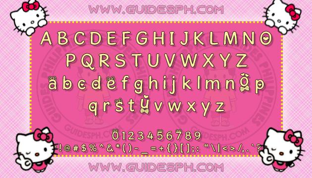 Mobile Font: Cashmere Font TTF, ITZ, and APK Format