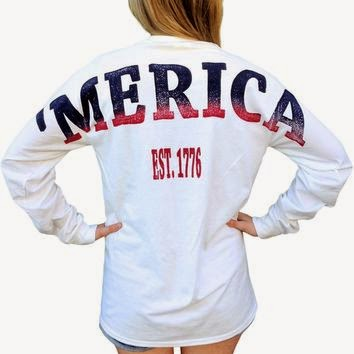 Merica long sleeve shirt