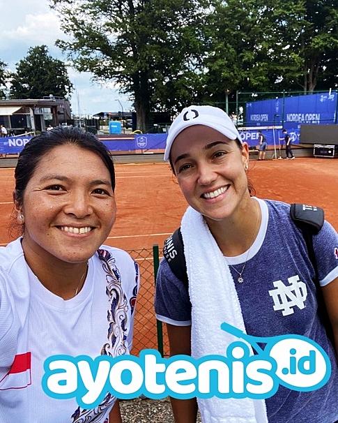 Tiga Ratu Tenis Indonesia Petik Hasil Sama di Tiga Turnamen Berbeda