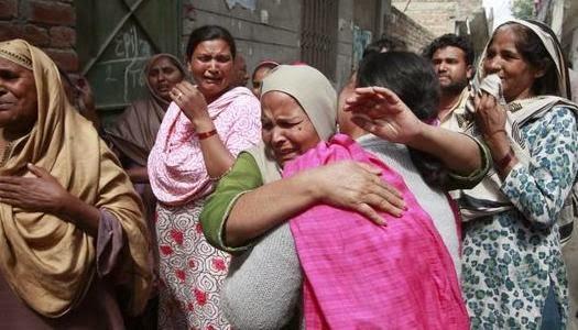 Musulmanes extremistas atacan iglesias cristianas