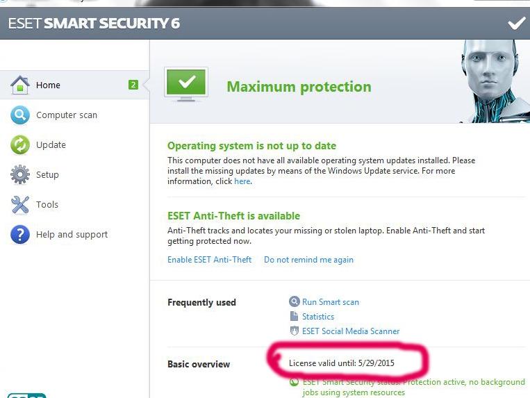 eset nod32   eset smart security guncel key 2020