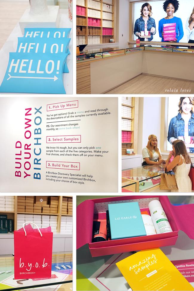Birchbox Soho, Birchbox Store, Birchbox New York, Birchbox New York Store, Birchbox BYOB