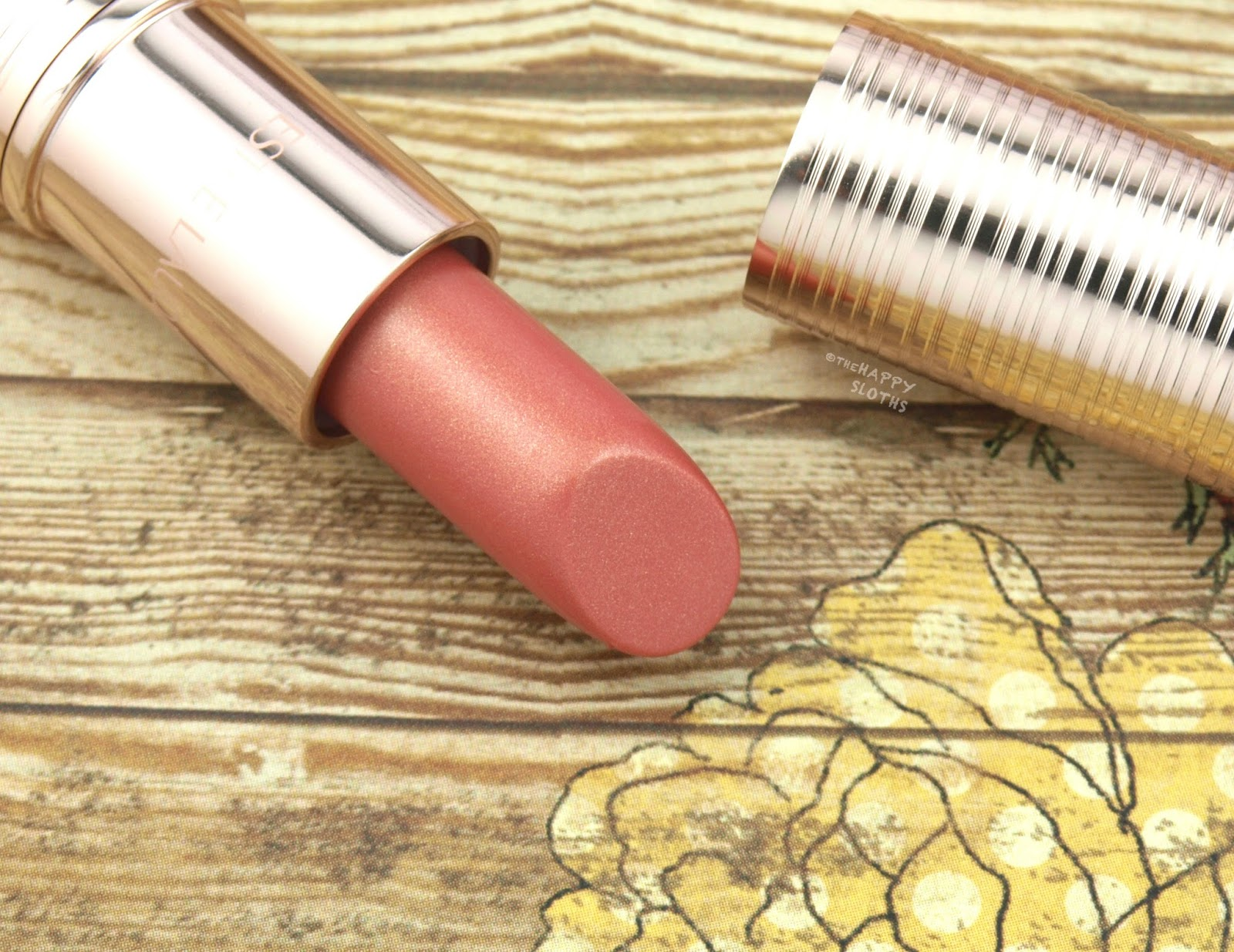 "Estee Lauder Bronze Goddess Summer Lip Glow in ""02 Sun Blush"": Review and Swatches"