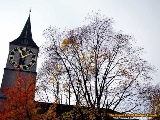 bowdywanders.com Singapore Travel Blog Philippines Photo :: Switzerland :: Go Back in Time with Kirche St Peter in Zurich, Switzerland