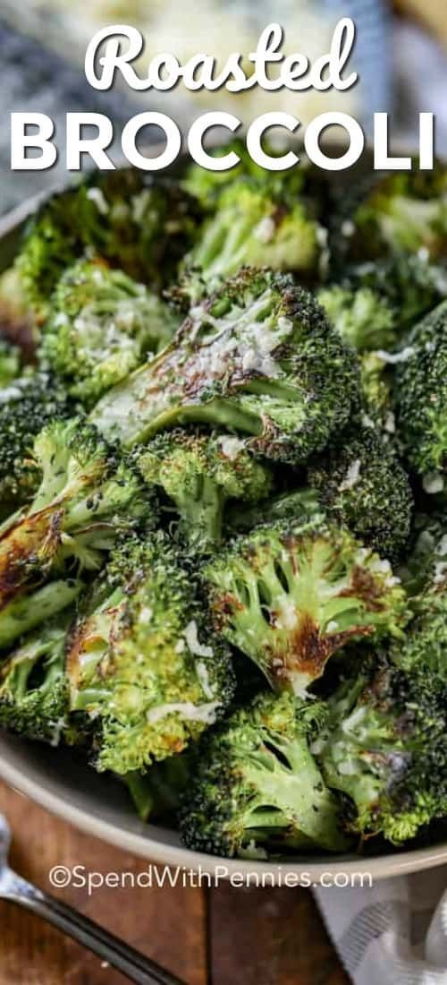 Parmesan Roasted Broccoli