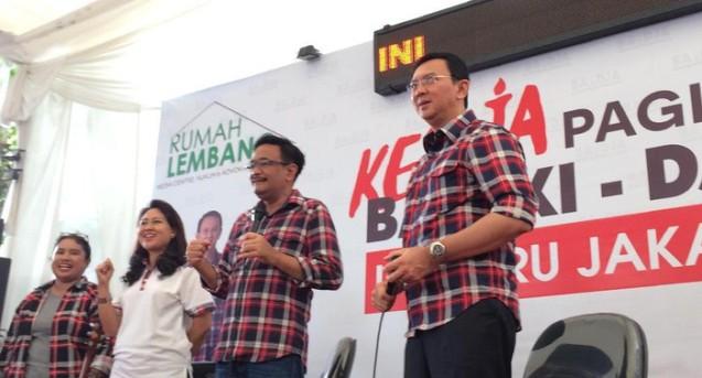 Sudah Terkumpul Rp 50 M, Ahok akan Stop Penggalangan Dana Kampanye