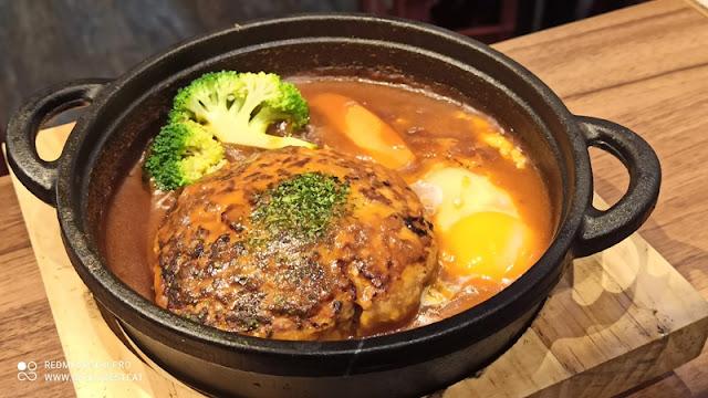 Teppan Sakaba Menu - Pork Hamburg Curry Stew