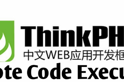 ThinkPHP 5.x Remote Code Execution